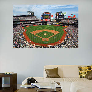Inside Citi Field Mural Fathead Wall Decal